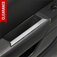 Modern Billet Chrome Interior Door Handle Accents (05-09 All)