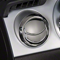 Modern Billet Chrome Air Vent Louver Covers (05-09 All)