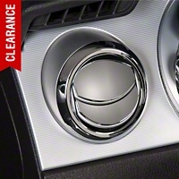 Modern Billet Chrome Air Vent Louver Covers (05-09 All) - Modern Billet BIL-05-AVL-CH