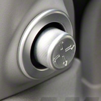 Satin Mirror Control Cover (05-09 All)