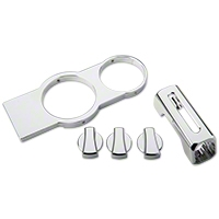 Modern Billet Chrome Billet Interior Starter Kit (05-09 GT, V6)