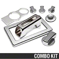 Mustang Chrome Billet Interior Complete Kit - Automatic (05-09)