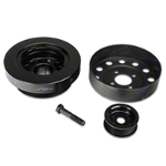 Steeda Underdrive Pulleys (96-Mid 01 GT) - Steeda 701-0001