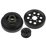 Steeda Underdrive Pulleys (Late 01-04 GT) - Steeda 701-0003
