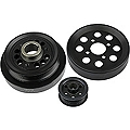 Steeda Underdrive Pulleys (01 Cobra; 03-04 Mach 1) - Steeda 701-0004