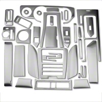 Brushed Aluminum Dash Overlay Kit (10-12 All) - AM Interior 0186-RBA-Auto-GPS||0186-RBA-Auto-woGPS||0186-RBA-Man-GPS||0186-RBA-Man-woGPS