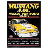 Mustang 5.0L Performance Portfolio 1982-1993 - Book - AM Accessories 127922||9781855204751