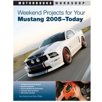 Weekend Projects for Your Mustang 2005-Today - Book