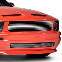 Polished Retro Billet Grille - Lower (05-09 V6)