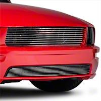 Modern Billet Polished Retro Billet Grille - Upper (05-09 GT)