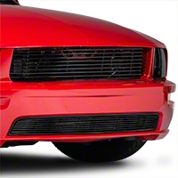 Black Retro Billet Grille - Upper (05-09 GT)