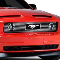 Polished Pony Package Billet Grille (05-09 V6)