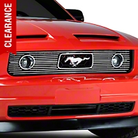 Modern Billet Polished Pony Package Billet Grille (05-09 V6)