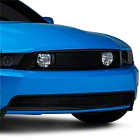 Black Pony Delete Billet Grille - Upper (10-12 GT)