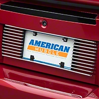 Modern Billet Rear License Plate Frame - Polished Billet (99-04 All)