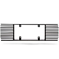 Rear License Plate Frame - Black Billet (99-04 All)