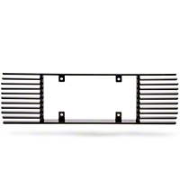 Modern Billet Rear License Plate Frame - Black Billet (99-04 All)