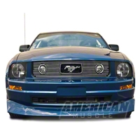 Polished Pony Package Billet Grille Combo Kit (05-09 V6) - AM Exterior GRL-05-V6-LOW||GRL-05-V6-UPP
