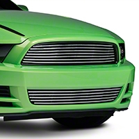 Modern Billet Polished Retro Grille - Upper (13-14 GT)