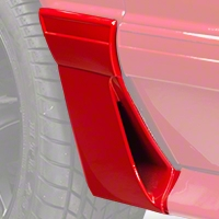 RH Quarter Molding w/ Side Scoop - Front (87-93 GT) - AM Restoration E7ZZ-6129076-GT