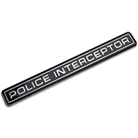 Police Interceptor Emblem - AM Restoration E5ZZ-6142528