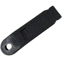 Inner Seat Belt Sleeve - Black (79-89 All) - AM Restoration D9ZZ-6161172-B
