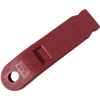 Inner Seat Belt Sleeve - Red (79-89 All) - AM Restoration D9ZZ-6161172-R