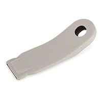 Inner Seat Belt Sleeve - Gray (90-93 All) - AM Restoration F0ZZ-6161172-G