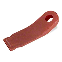 Inner Seat Belt Sleeve - Red (90-93 All) - AM Restoration F0ZZ-6161172-R
