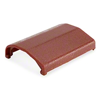 Seat Belt Buckle Cover - Red (83-89 All) - AM Restoration E4ZZ-6161264-R