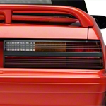 Replacement Cobra Style Tail Light Lens - RH (87-93 All) - AM Lights E5ZZ-13450-B