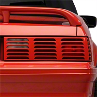 Replacement Tail Light Lens - RH Unpainted(87-93 GT) - AM Lights E7ZZ-13450-GT