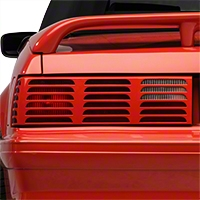 Replacement Tail Light Lens - LH Unpainted (87-93 GT) - AM Lights E7ZZ-13451-GT