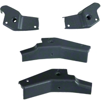 T-Top Striker Plates - Set of 4 (81-88 All) - AM Restoration E1ZZ-6150000