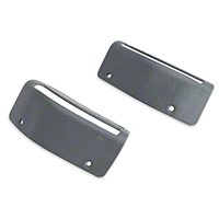 Convertible Seat Belt Bezels - Pair (85-89 All) - AM Restoration E5ZZ-7660230