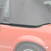 Convertible Top Boot Well Molding - LH (87-93 All) - AM Restoration E7ZZ-7642319