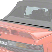 Rear Center Well Molding Weatherstripping - Convertible (87-93 All) - AM Restoration E3ZZ-7642320