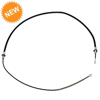Rear Parking Brake Cable (83-93 All; excludes Cobra)