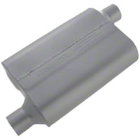 Flowmaster Original 40 Series Offset Muffler - 2.25 in. (79-04 All, Excludes 99-04 Cobra) - Flowmaster 42443
