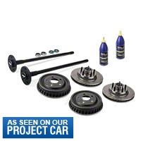 Complete 5-Lug Conversion Kit - 28 Spline (87-93 5.0L) - Alloy USA KIT||18952||12180||45003||01300||53202||121.61018||53203||122.65023