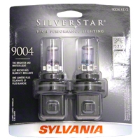 Sylvania Silverstar Light Bulbs - 9004 - Sylvania 9004ST BP2