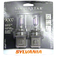 Sylvania Silverstar Light Bulbs - 9007 - Sylvania 9007ST BP2