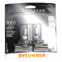 Sylvania Silverstar Light Bulbs - 9005 - Sylvania 9005ST BP2