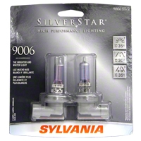 Sylvania Silverstar Light Bulbs - 9006 - Sylvania 9006ST BP2