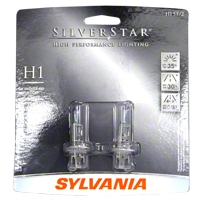 Sylvania Silverstar Light Bulbs - H1 - Sylvania H1ST BP2