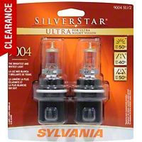Sylvania Silverstar Ultra Light Bulbs - 9004 - Sylvania 9004SUBP8TWIN