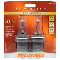 Sylvania Silverstar Ultra Light Bulbs - 9007 - Sylvania 9007SUBP8TWIN