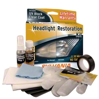 Sylvania Headlight Restoration Kit (87-14 All) - Sylvania 38771