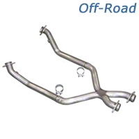 Pypes Off-Road X-Pipe (79-95 5.0L) - Pypes XFM10