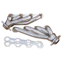 Pypes Polished Shorty Headers (87-93 5.0L) - Pypes HDR50S